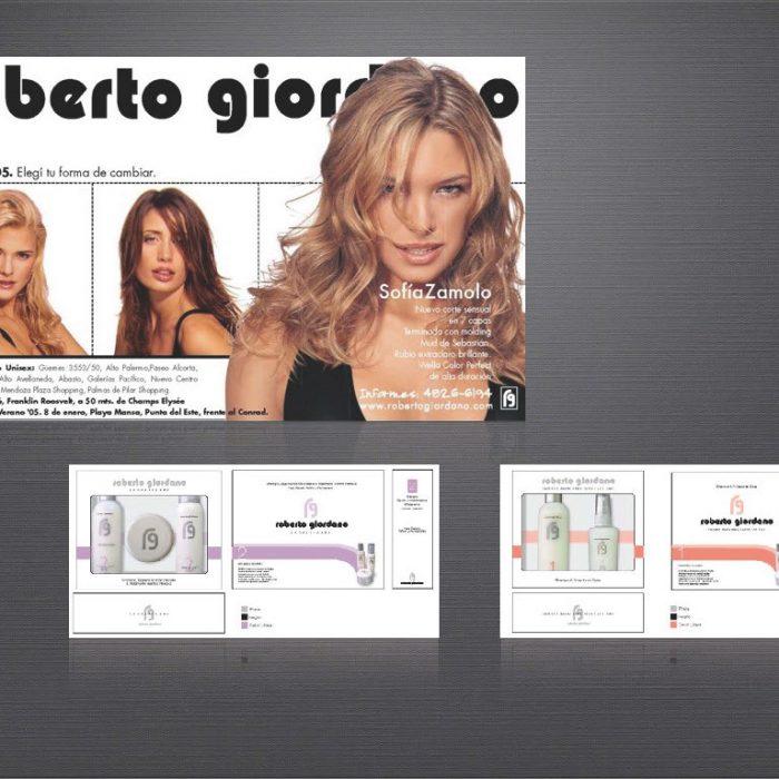 Roberto Giordano aviso + Pack